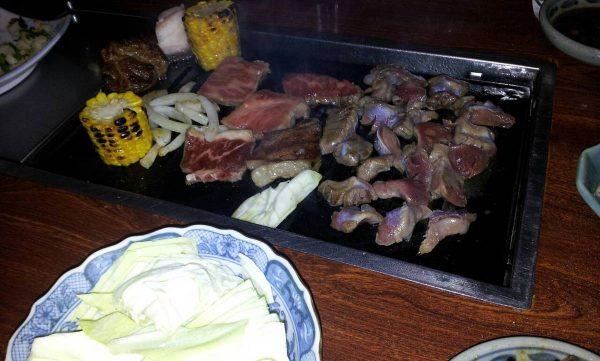 このあいだ久しぶりに地元の犬鳴山にある焼き肉食べてきました!
